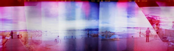 All photographs shot with expired film