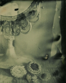 Amalia Hernandez, tin type, 2012